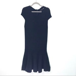 Alice + Olivia black sweater dress size M